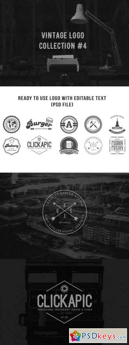 Vintage Logo Collection #4