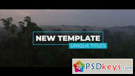 New Unique Titles 56820 - Premiere Pro Templates