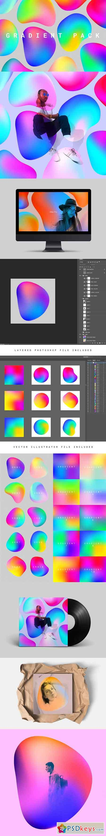 Abstract Gradient Pack 01 2295944
