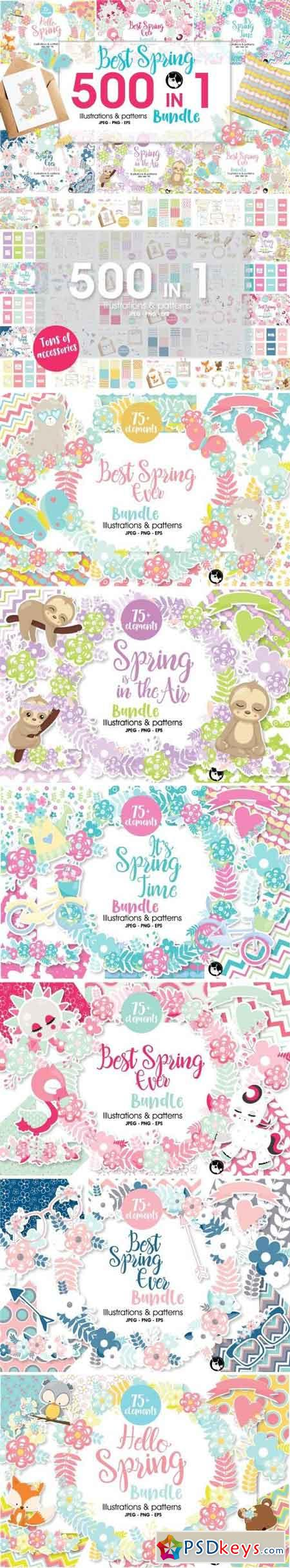 Mega Spring Bundle - 500 in 1 2467491