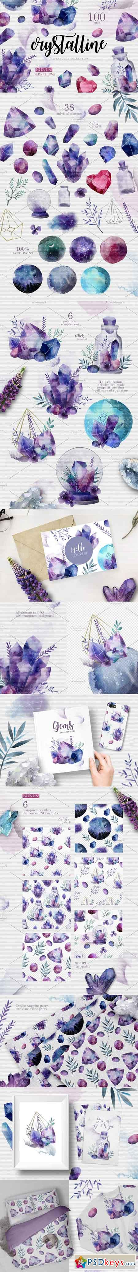 CRYSTALLINE Watercolor Collection 2303631