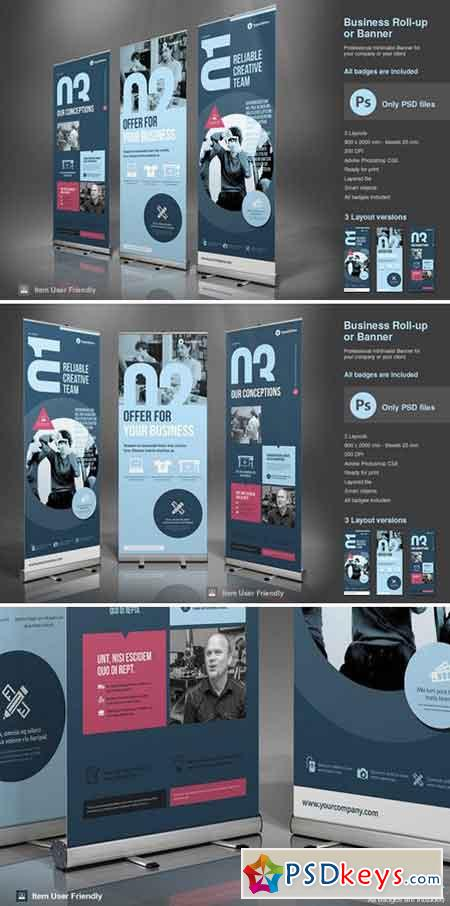 Business Roll-Up Vol. 2 PSD 2430826