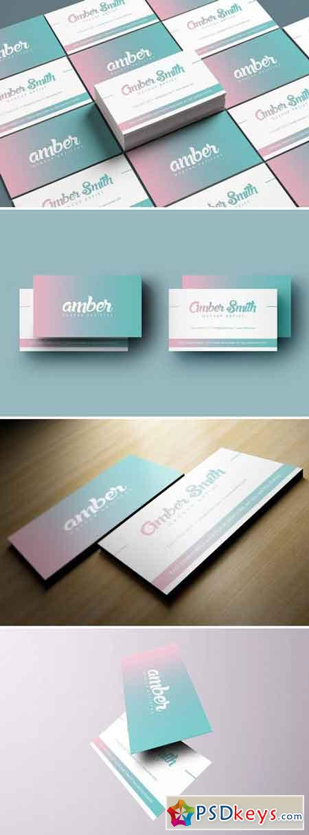 Simple Holographic Business Card 2429754