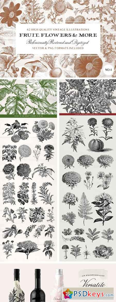 The Vintage Flowers & More Bundle 2446258