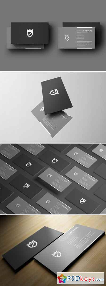 Minimal Grey Business Card 2429746