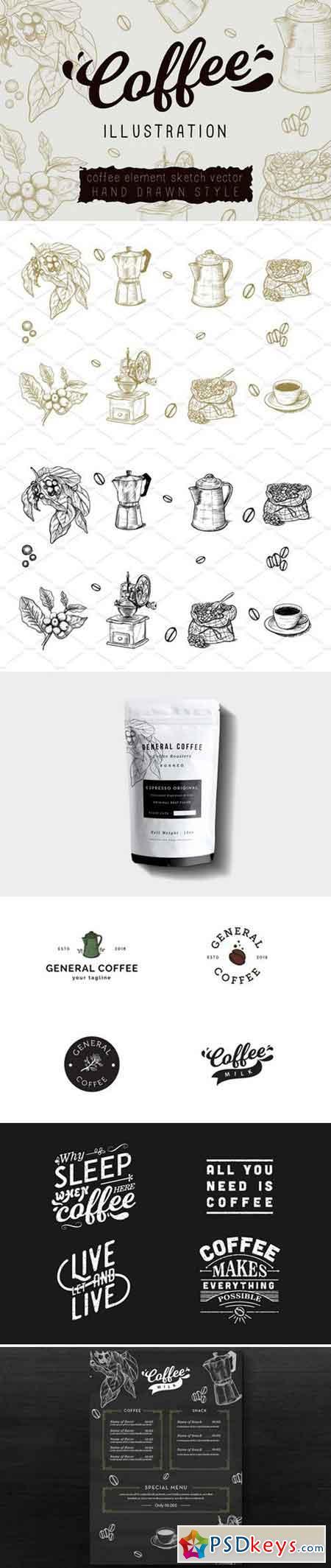 Coffee Vector Illustration 2423932