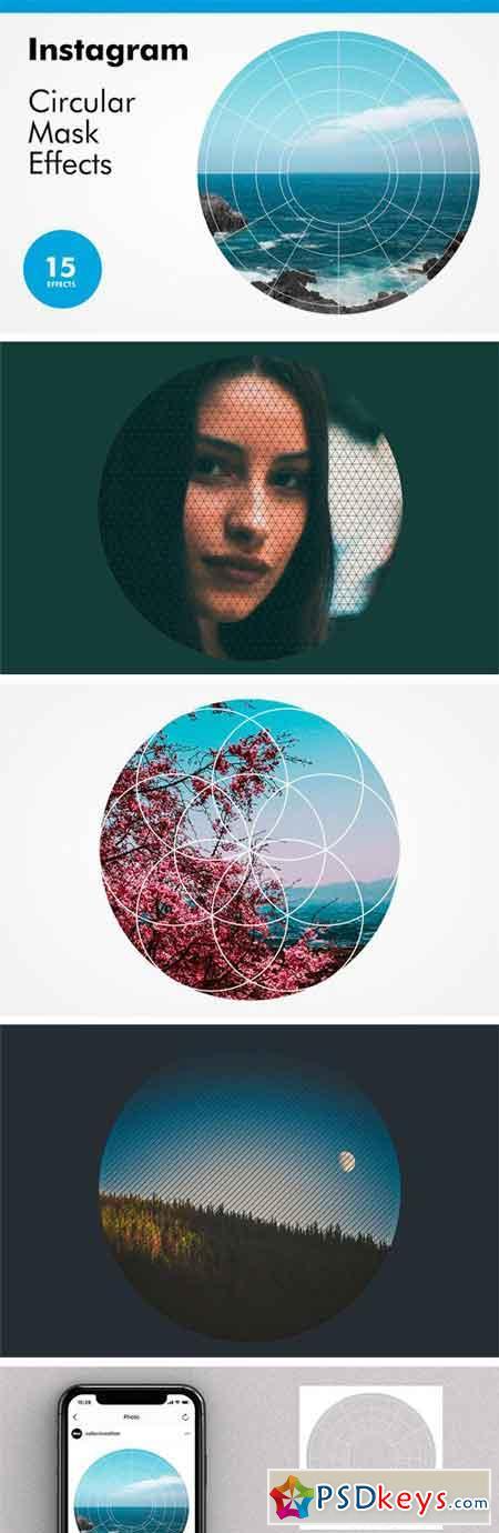 Instagram Circular Mask Effects 2443227