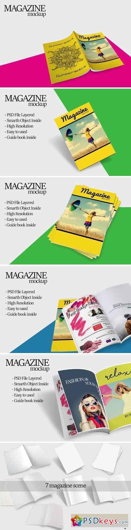 Magazine Mockup 1577270
