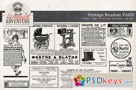 Vintage Brushes Vol03 1590081