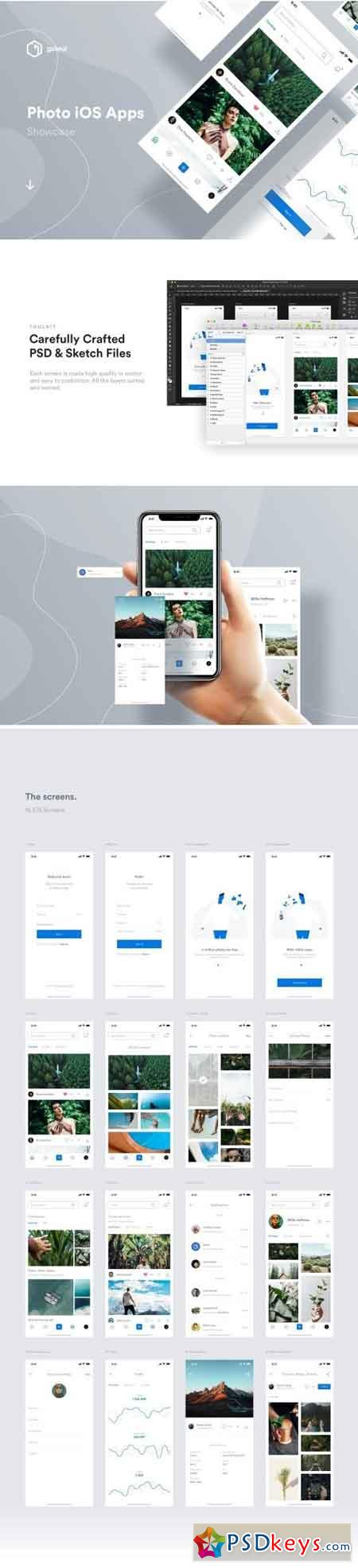 Photo iOS UI Kit 2464536