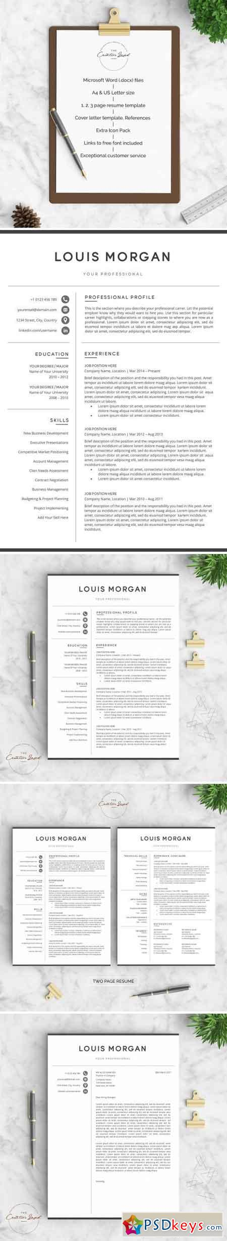 Resume CV - The Louis 2144576
