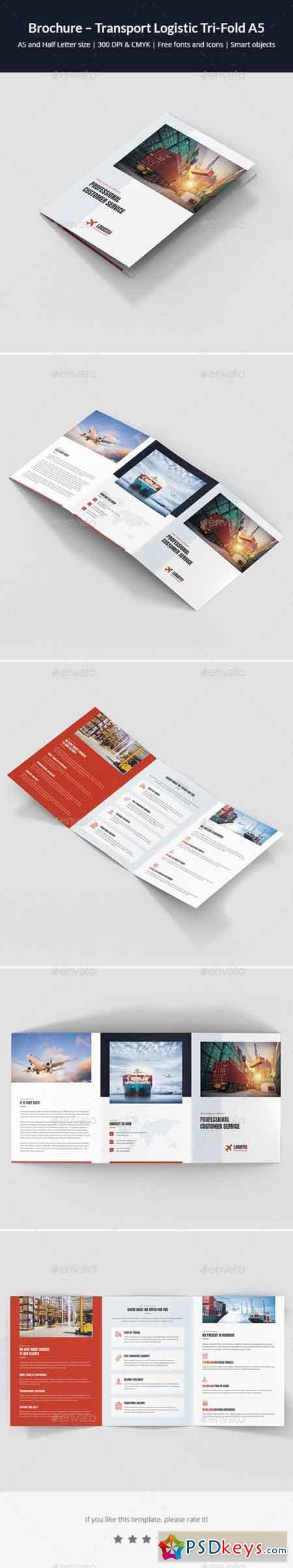 Brochure – Transport Logistic Tri-Fold A5 21805581