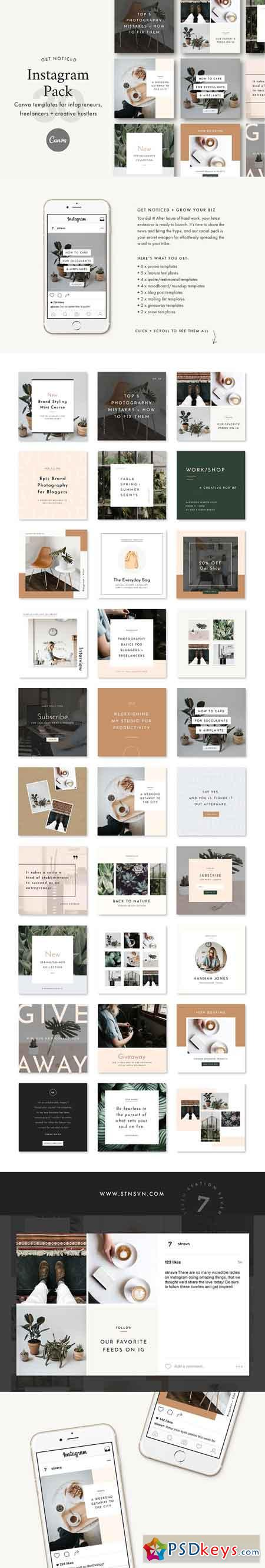 Instagram Canva Bundle 2476714