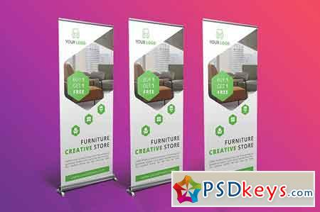 Furniture Roll Up Banner 2477164