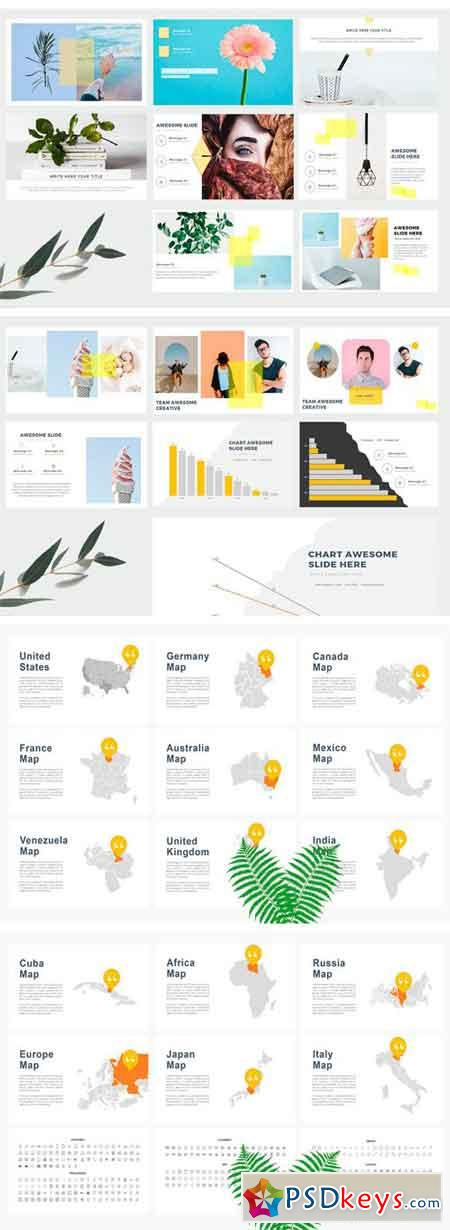 Simple Creative Powerpoint Template 2391962