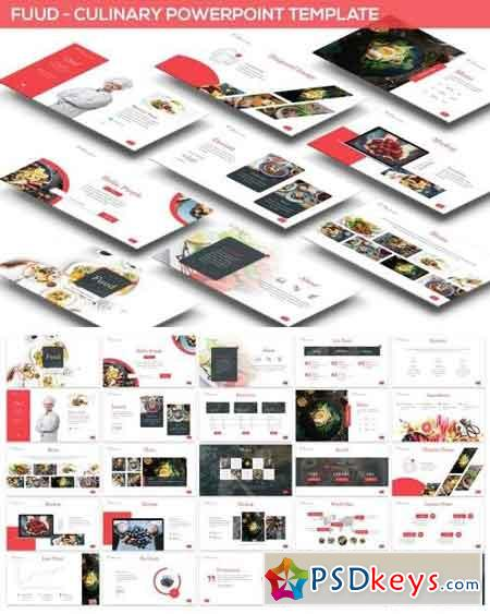 Fuud - Culinary Powerpoint Template