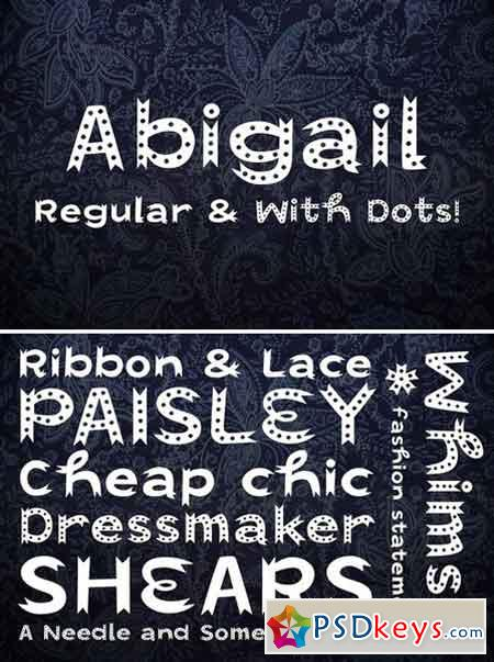 Abigail Display Fonts 1589079