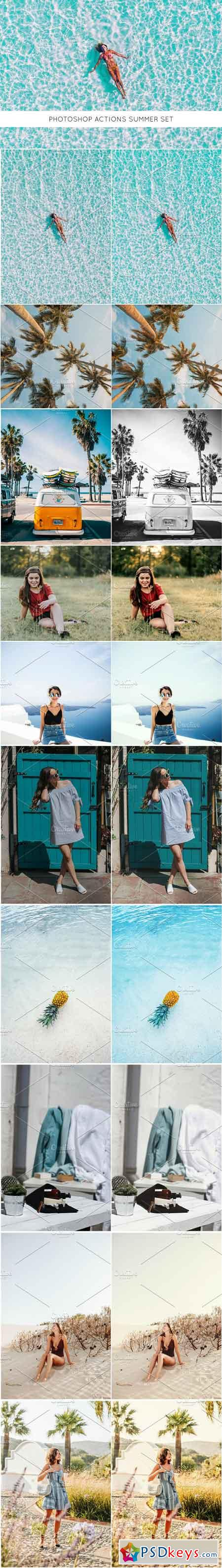 Photoshop actions Summer set 2507714