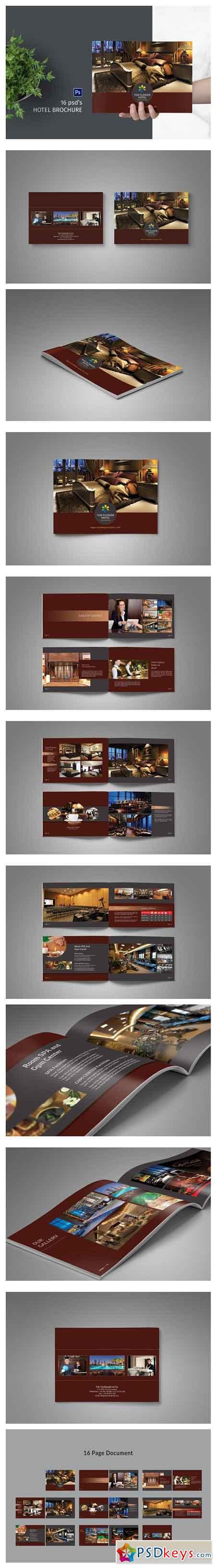 Hotel Brochure Template 2508271