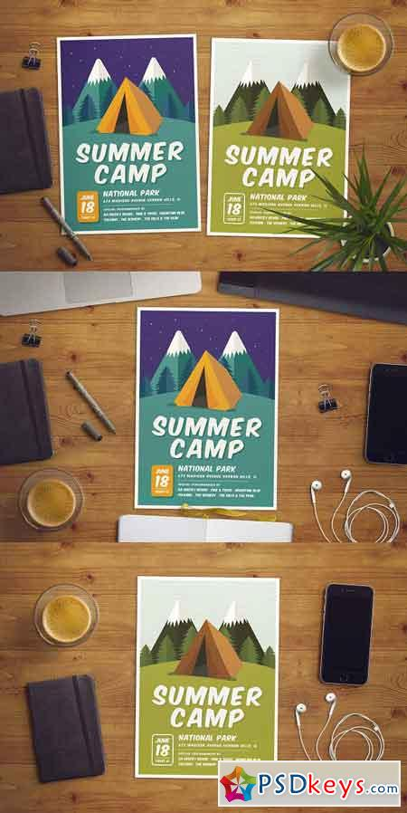 Summer Camp Flyer 2496276