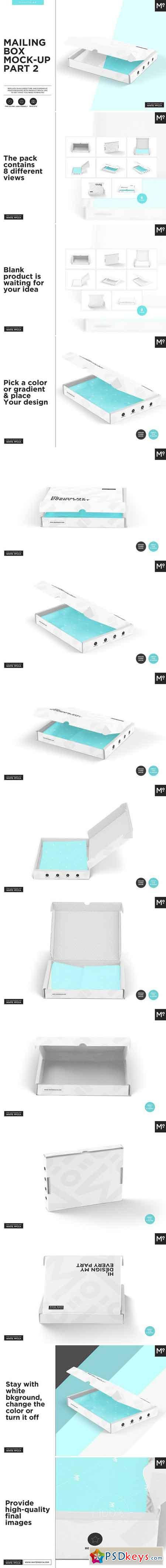 Mailing Boxes Mock-up Part 2 1543254