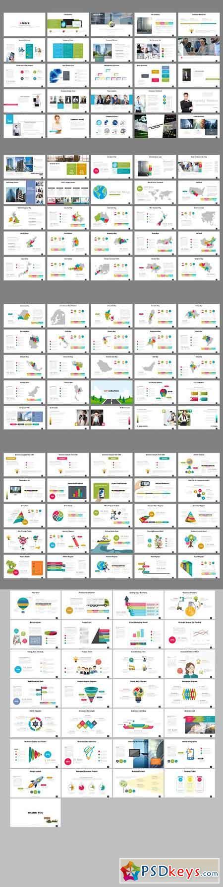 e-Mark Presentation Template 2414672