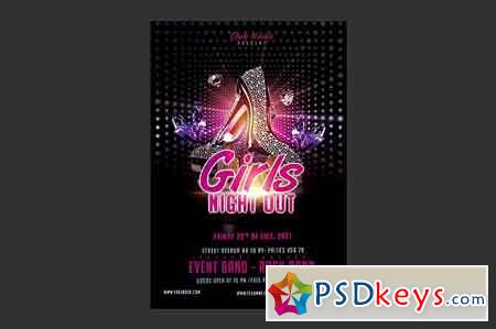 Girls Night Out Flyer 2509061