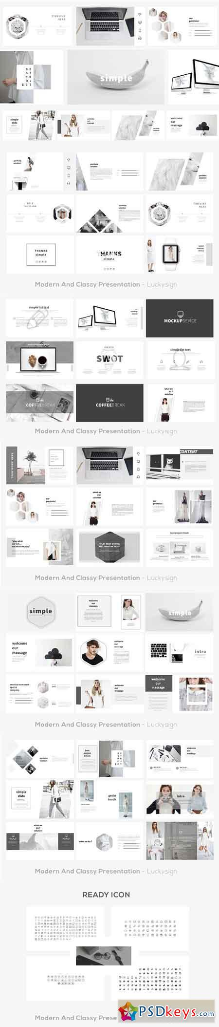 Simple Presentation Template 2413462