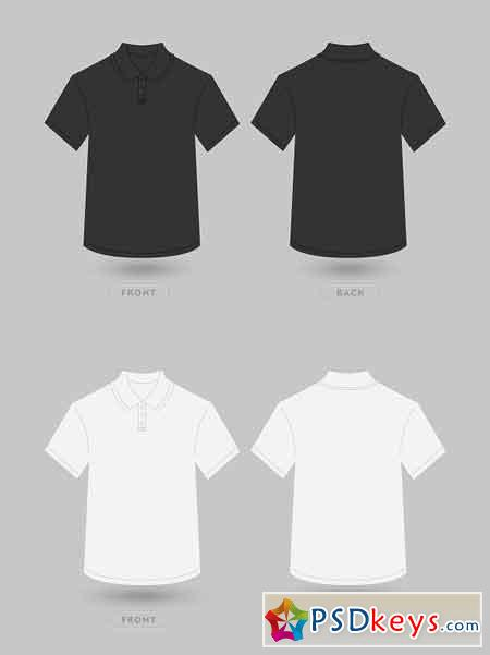 Polo T Shirt Vector Mockup 2418227