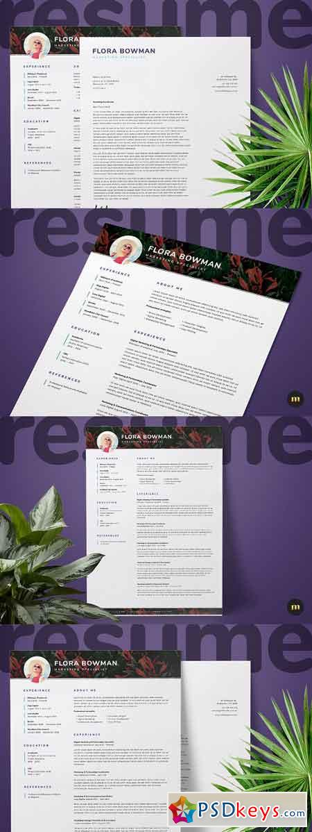 Resume CV and Cover Letter 2413467
