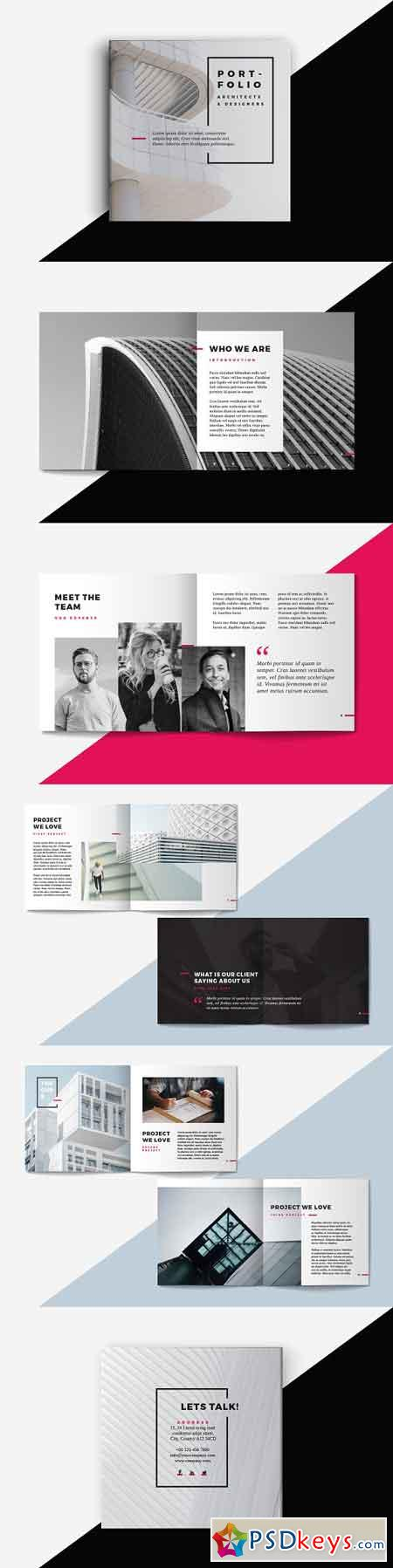 Square Portfolio Brochure Template 2414465