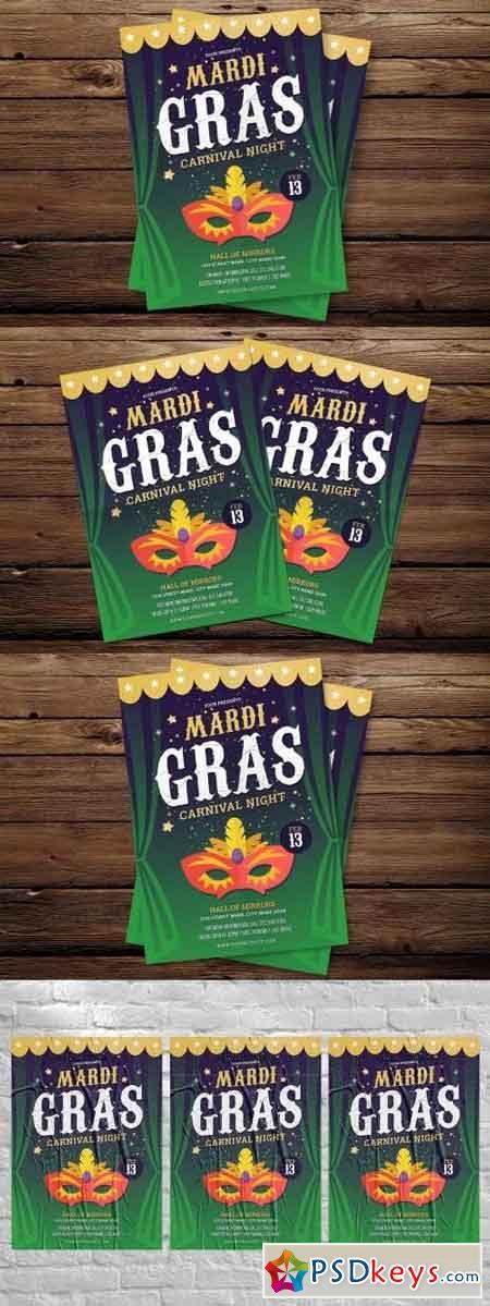 Mardi Gras Flyer 2