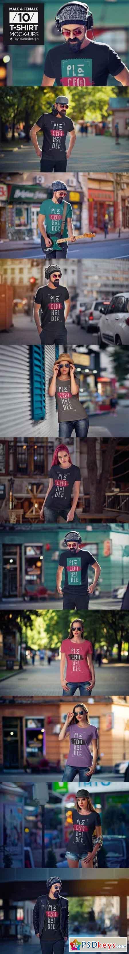 T-Shirt Mock-Up Vol.4