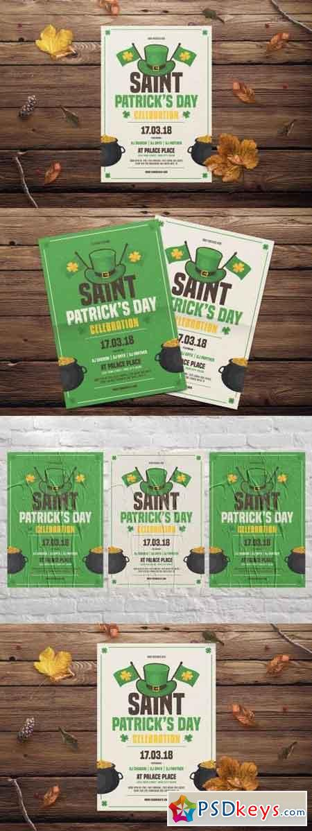 St. Patrick's Day Flyer 2