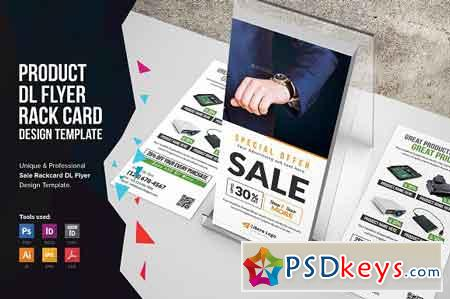 Product Promotion Rackcard DL Flyer 2508393