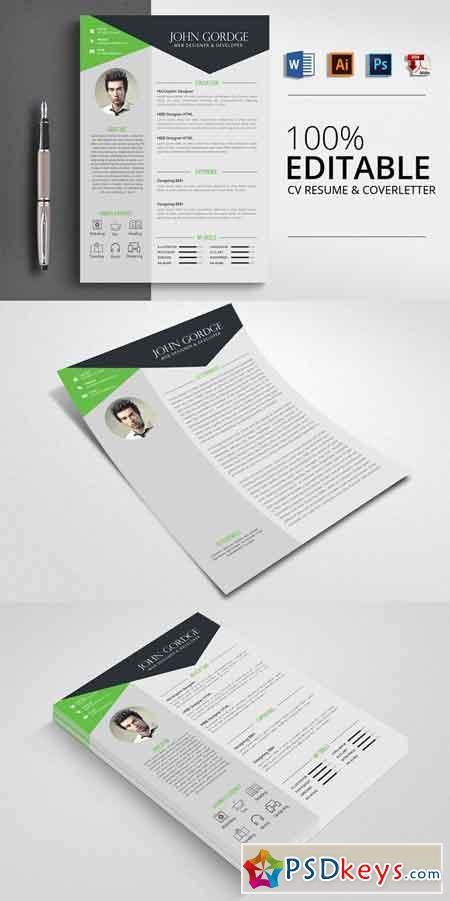 Microsoft Word CV Resume 2506549