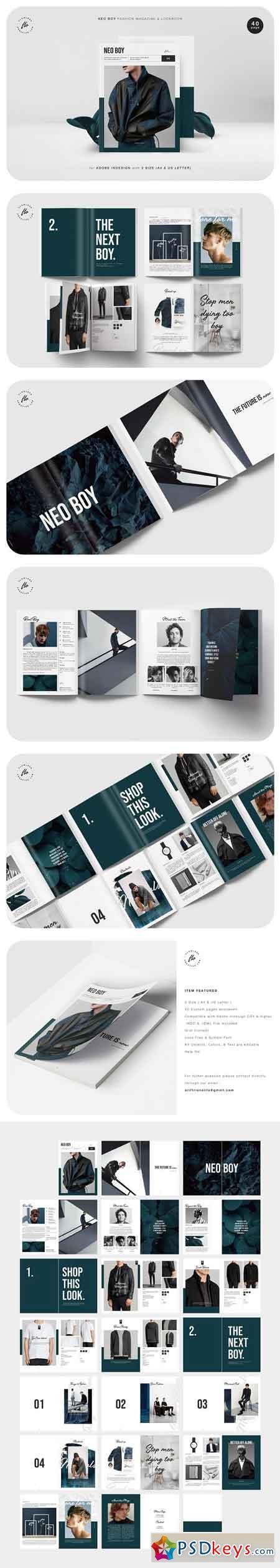 NEO BOY Fashion Magazine & Lookbook 2509300