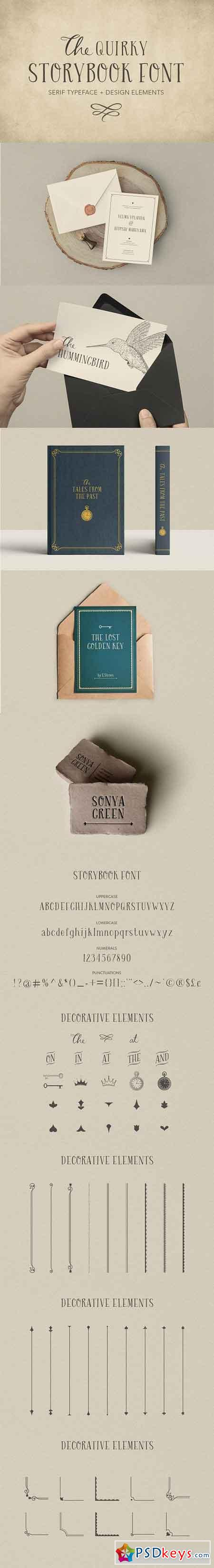 Quirky Storybook Font 2477002
