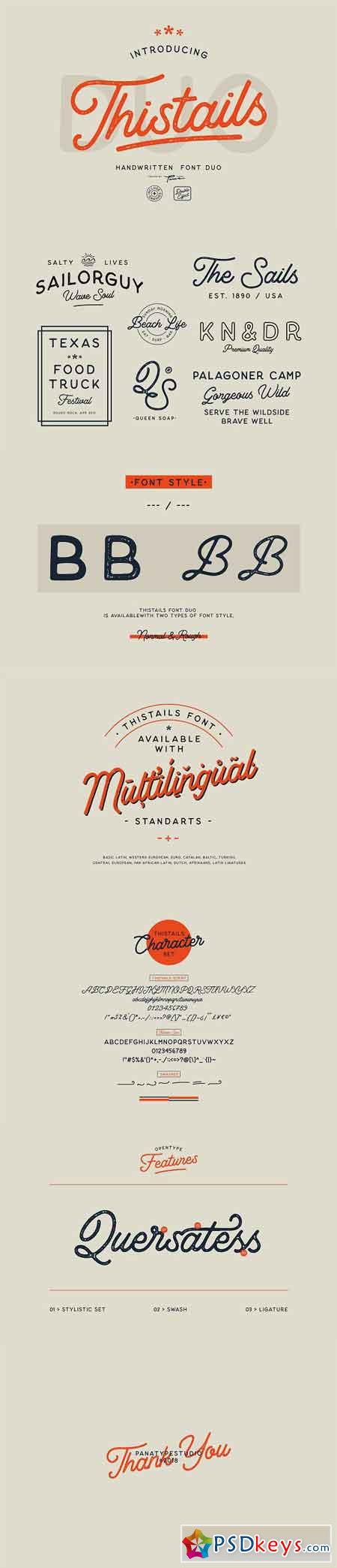 Thistails Font Duo 2509046