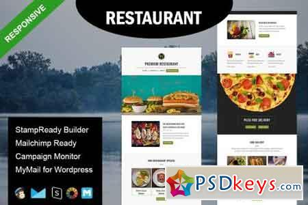 Restaurant - Email Template 1590134