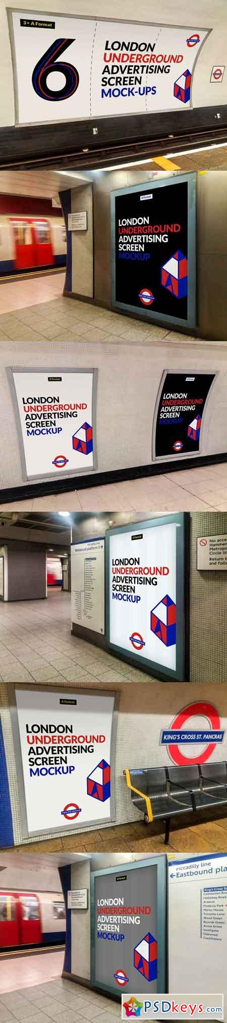 London Underground Screen Mock-Ups 4 2532174