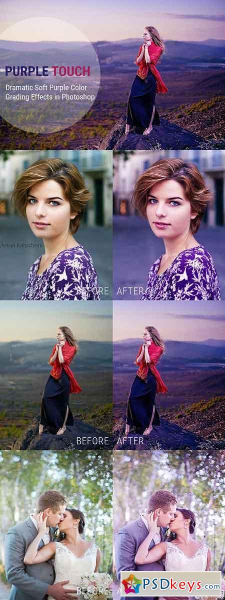 Soft Purple Color Grading Effects 2477213