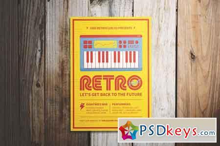 Retro Festival Flyer 2451985