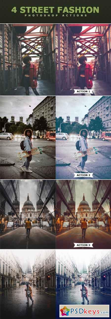 Street Fashion Photoshop Actions 21868192