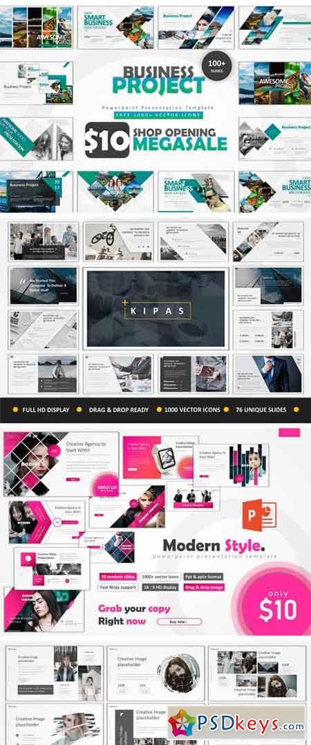 10 in 1 Clean Bundle Powerpoint 2423080