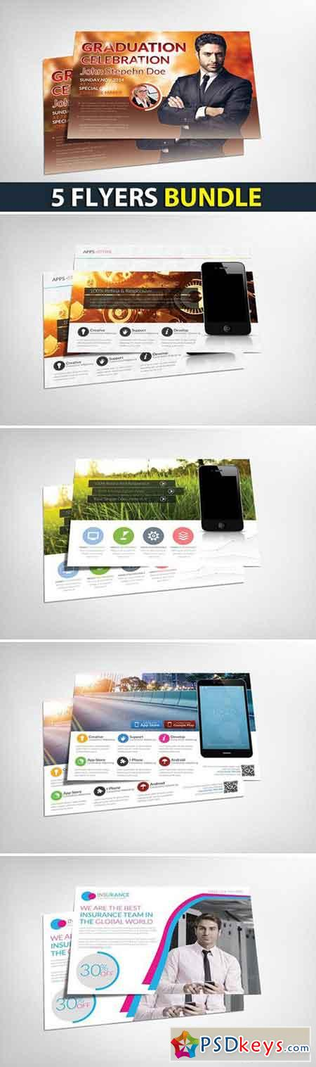 5 Multi-purpose Corporate Flyers 2458008