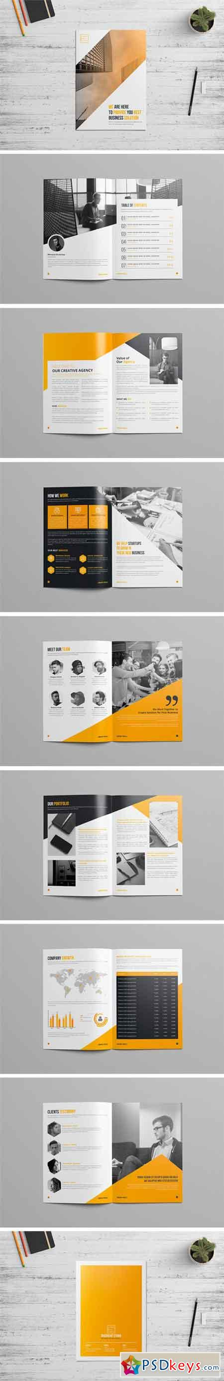 Company Profile Brochure Template 2394103