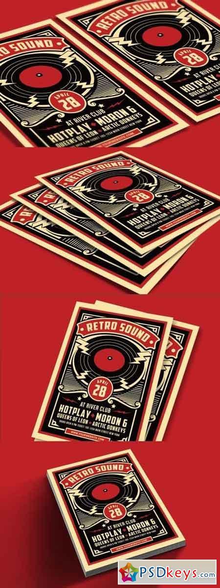 Retro Sound Flyer