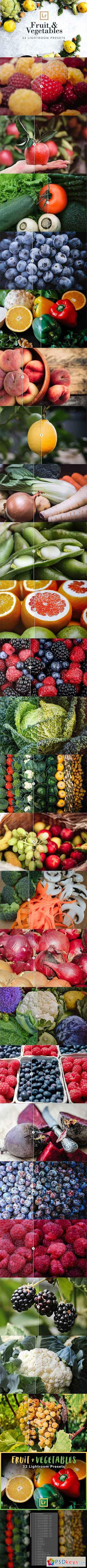 Fruit & Vegetables Lightroom Presets 2532992