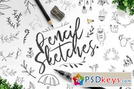 Pencil Sketches Bundle